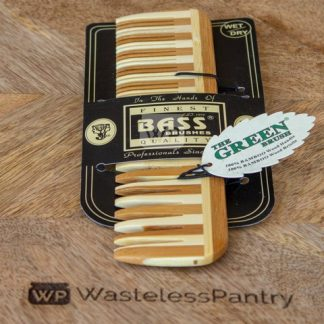 Hair Comb Wide & Fine Tooth Bamboo