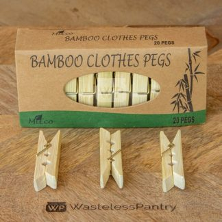 Bamboo Pegs 20 Pack