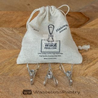 Wire Clothes Pegs 24 Pack