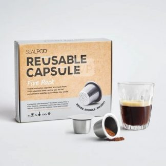 Reusable Coffee Pod Sealpod Five Pack Bundle