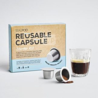 Reusable Coffee Pod Sealpod Starter Pack