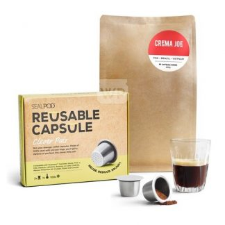 Reusable Coffee Pod Sealpod Two Pack Bundle