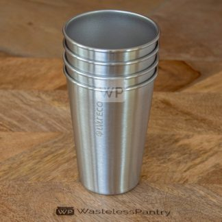 Stainless Steel Drinking Cups (4 Pack)